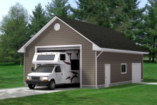 Best Garage Door Size for an SUV or RV