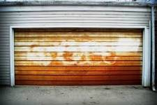 Rust and garage doors don't make a good mix