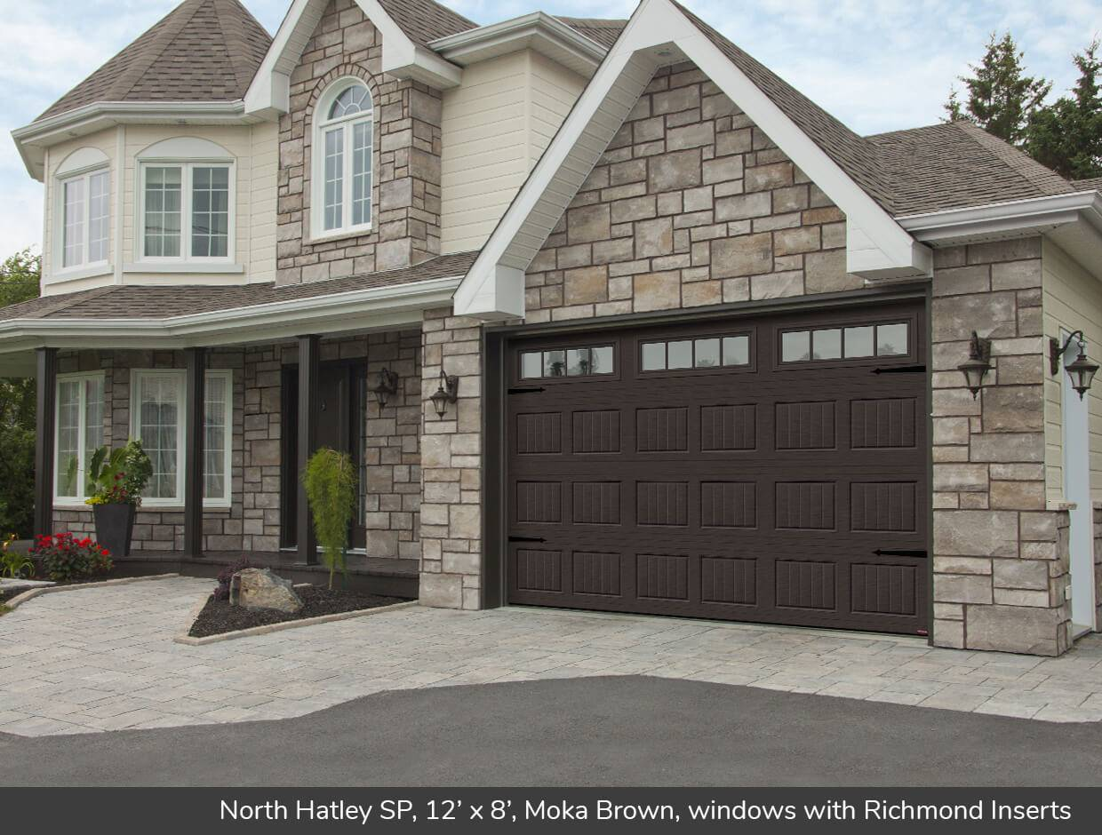 North Hatley SP, 12' x 8', Moka Brown, windows with Richmond Inserts